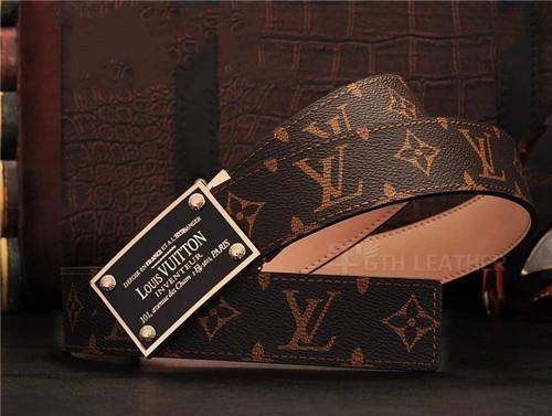Оптовый парижский дизайнер Big Buckle V классическая печать марки печать пояса печать
