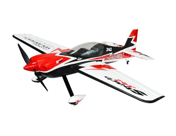RC EPO самолет RC F3D самолет Sbach 342 Thunderbolt 11 размах крыльев 1100 мм 3D пилотажный RC самолет