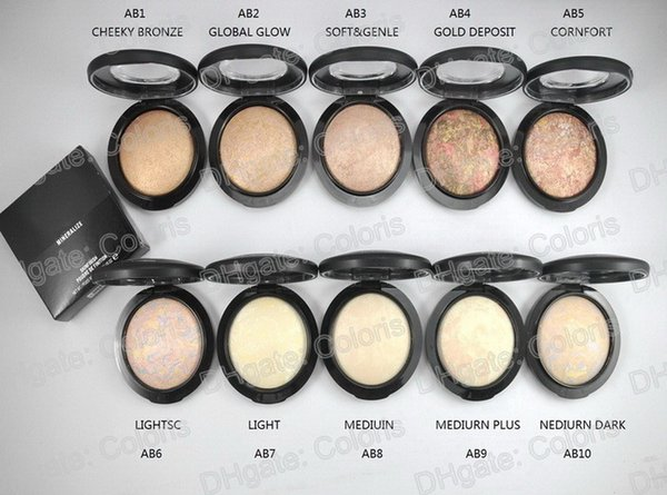 Makeup mineralize kinfini h natural pre powder face pre ed powder foundation poudre de finition 10pc hipping by epacked