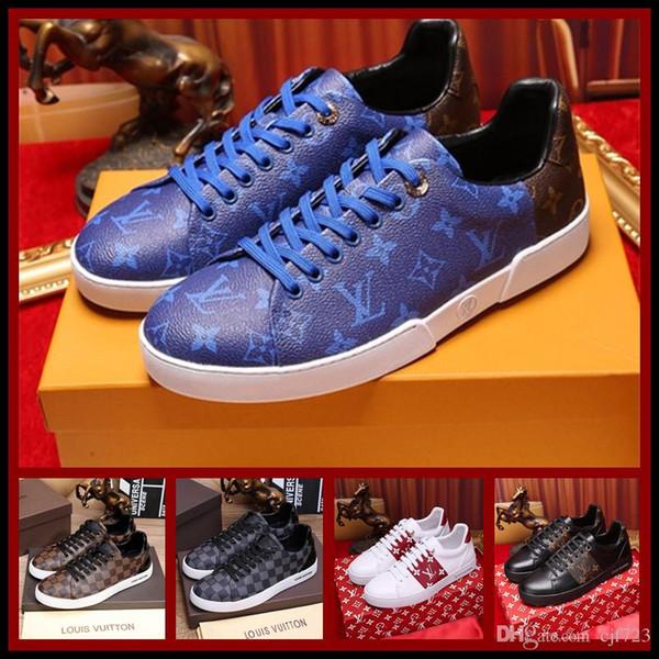 18ss личность и мода известные роскошные бренды кроссовки летние удобные мужские м