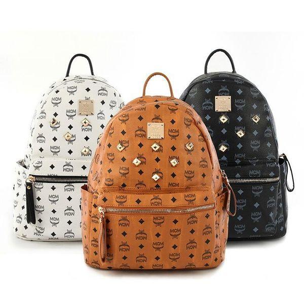 50 стилей 6 цветов Роскошный бренд женщин мешок Школьные сумки PU кожа Мода Известные дизайнеры рюкзак женщин мешок сумки рюкзаки сумка для ноутбука