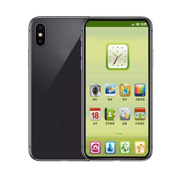 5.8inch Goophone X 1GB RAM 16GB ROM MTK6580 QuadCore 8MP FaceID Wireless Charge 3G WCDMA Andriod CellPhone Sealed Box Fake 4G отображается