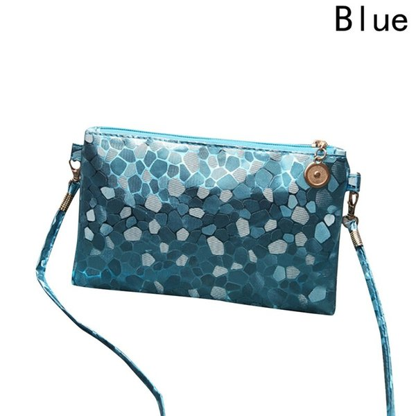 women shiny pattern coins change purse clutch zipper wallet phone key bags 2018 coin purse (431504395) photo