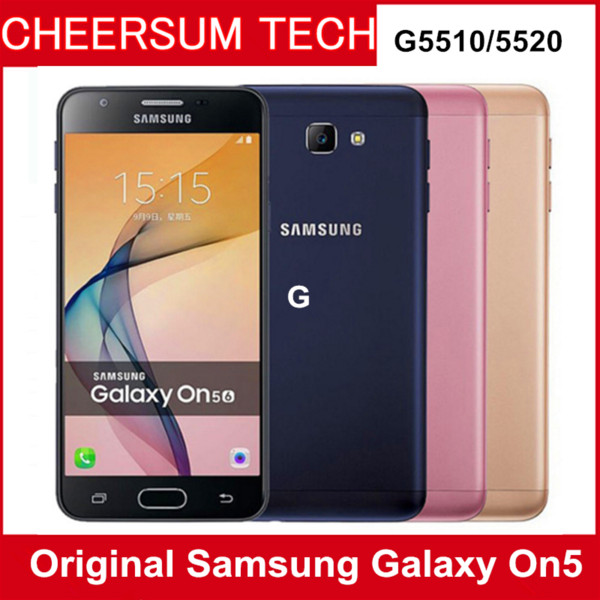 Original  am ung galaxy on5 g5500 2gb ram 8gb rom 4g lte mobile phone 13mp dual  im 4g 5 0  039   039  android 6 0 cell phone