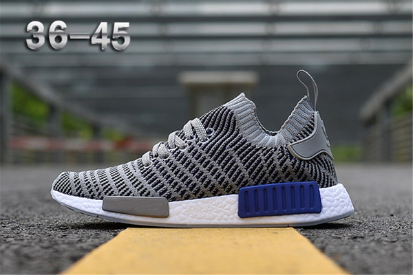 2018 nmd r1 tlt primeknit porter duck camo army zebra triple black men women running hoe port nmd runner primeknit de igner trainer