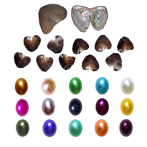 1-10 шт. Овальный Жемчужный комплект с устрицей индивидуальный вакуумный пакет Mix 11 фото