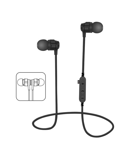 M  t8 magnetic bluetooth  port earphone wirele   running head et with mic mp3 earbud ba    tereo bt 4 2 for iphone xiaomi  am ung