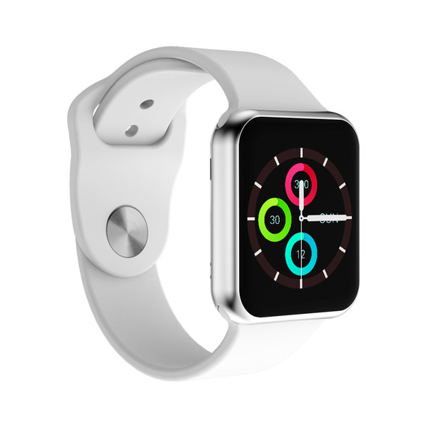 New arrive bluetooth  mart watch 42mm update  martwatch ca e for apple iphone io  android  mart phone reloj inteligente watch pk iwo 4 5
