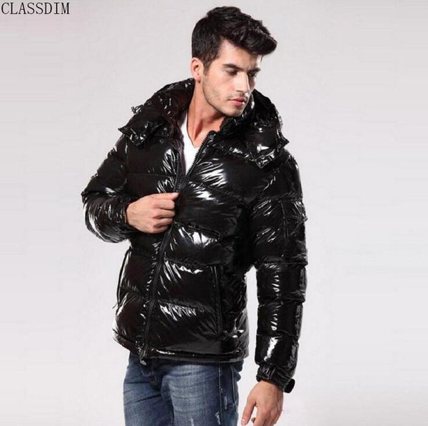French Famous Men's Self-Cultivation Down Jacket Men's Large Size Fashion Warm High-Quality Down Jacket Star The Same Style