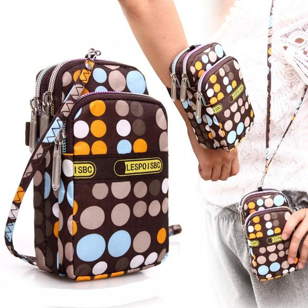 fashion women's printing zipper shoulder bag mini wrist purse coin purse dropshipping wholesale #y (416929566) photo