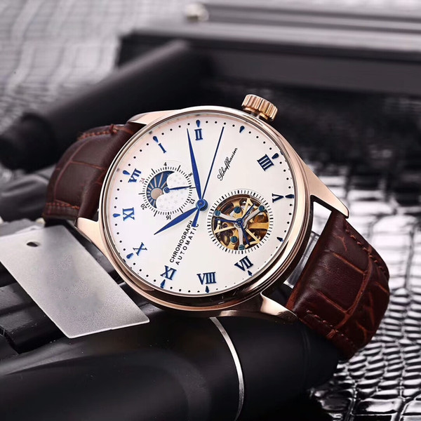 2019 new grade portugal erie men automatic mechanical watch 42mm man 316l tainle teel watche with luxury wri twatch box a gift