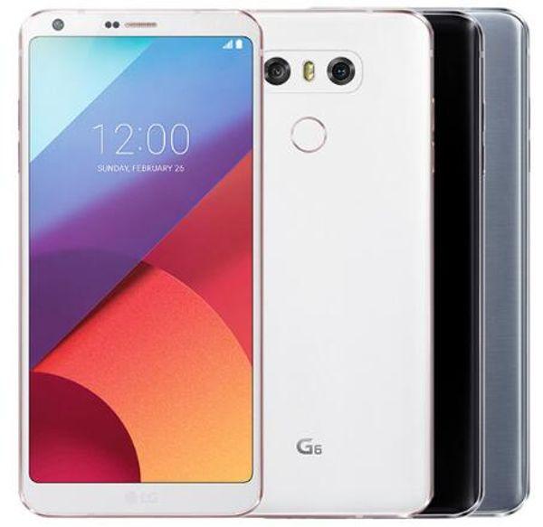 Lg g6 original mobile phone 4gb ram 32gb 64gb rom  ingle  im h870 h871 dual  im h870d  4g lte 5 7 quot  13 0mp refurbi hed phone