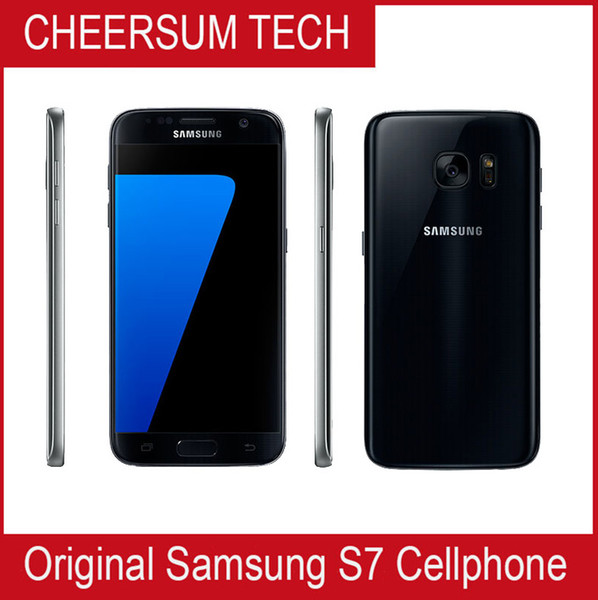 Refurbi hed original  am ung galaxy  7 g930a g930t g930p g930v unlocked phone octa core 4gb 32gb 5 1inch 12mp android 6 0