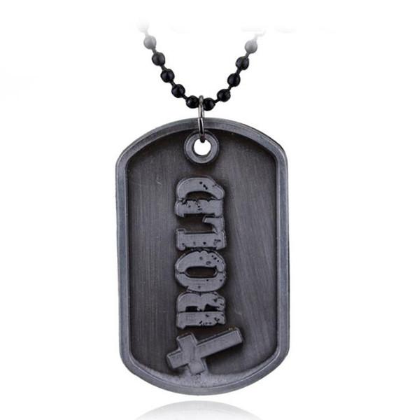 DHL христианский Бог ожерелье Иисус Навин быть сильным и мужественным стих Библии