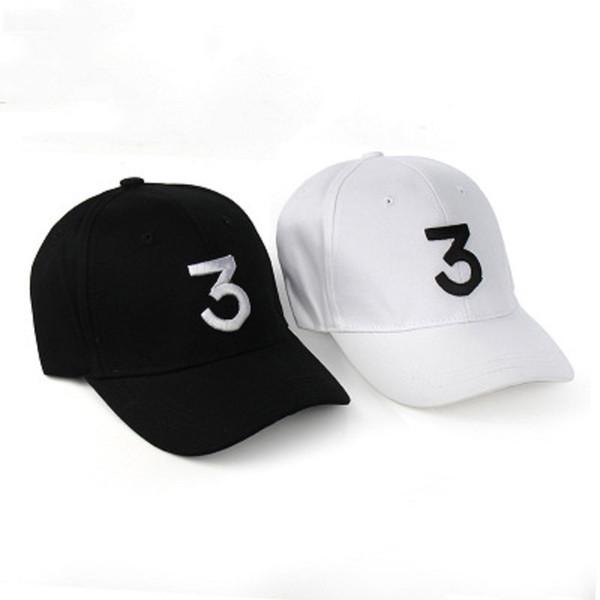 Шанс 3 F1 Rapper Бейсбольная кепка Письмо Вышивка Snapback Caps Мужчины Женщины Хип-хоп Hat Stre