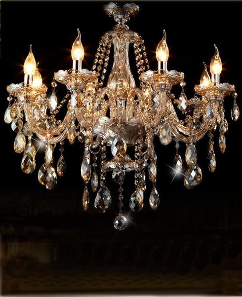 Люстра свет современная люстра Кристалл освещение современный спальня столовая хрустальная люстра для гостиной спальня фото