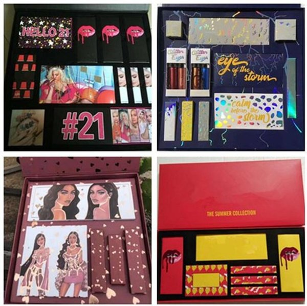 Дропшиппинг макияж набор летняя коллекция Привет 21 Красный день рождения молния