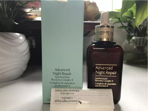 Brown bottle famou brand moi turizing face kin care cream advanced night repaire yncronized recovery repairing 50ml 100ml hipping
