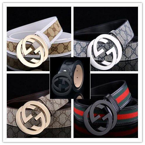 2018 new gold and ilver buckle de ign belt luxury men 039 belt fa hionable women 039 belt whole ale delivery