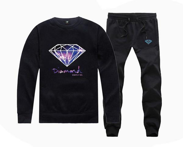 S-5xl h900 мужской хип-хоп костюм пуловер модные толстовки пуловер с печатью о-образным вырезом письмо повседневная толстовка + брюки спортивная