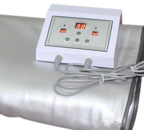 Тело одеяла термальной терапии инфракрасного топления одеяла сауны горячее умен фото