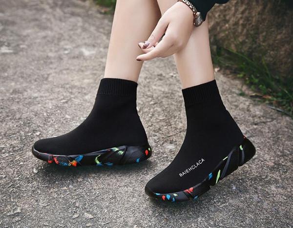 Женщины мужчины ребенок мальчик девочка студент классические эластичные носки обувь высокий помочь ленивый человек обувь комфортно дышать свободно любителей сапоги EUR 29-47