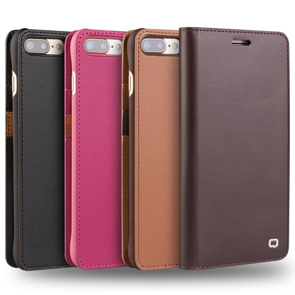 New leather ca e for iphone 7 card holder flip cover for iphone 7 plu handmade luxury ultra lim phone ca e 4 7 5 5 hol ter