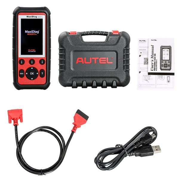 Autel maxidiag md808 pro diagno tic tool full y tem with pecial function for epb oil re et dpf a and bm