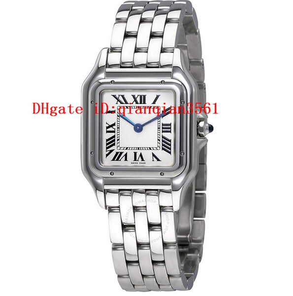 Высокое качество Wspn0007 кварцевые Panthere де Серебряный циферблат женские часы из нер фото