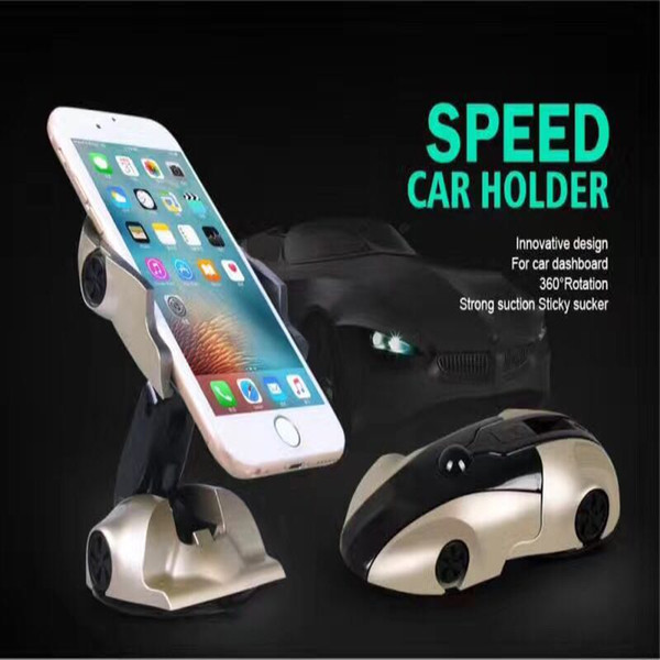 new arrival universal 360 degree car mount windshield dashboard mobile phone car holder cradle for iphone xs 9 all smartphones