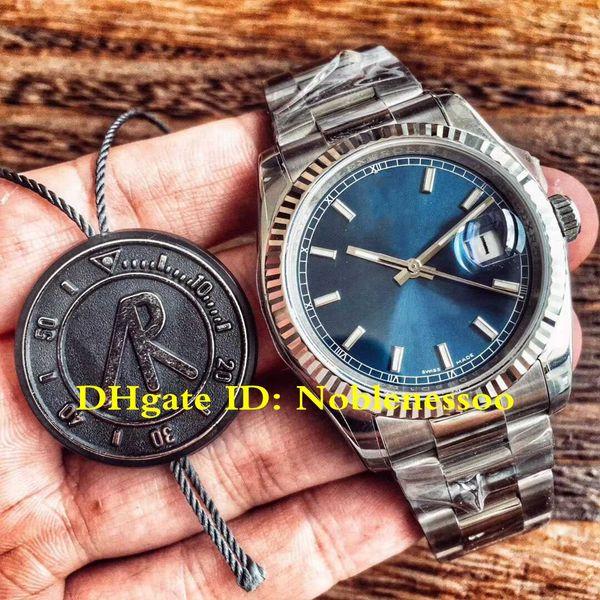 8 Style ETA 3135 Movement Watch Top Luxury Mens Women Unisex 36mm Datejust 116234 904L Steel Automatic Watches