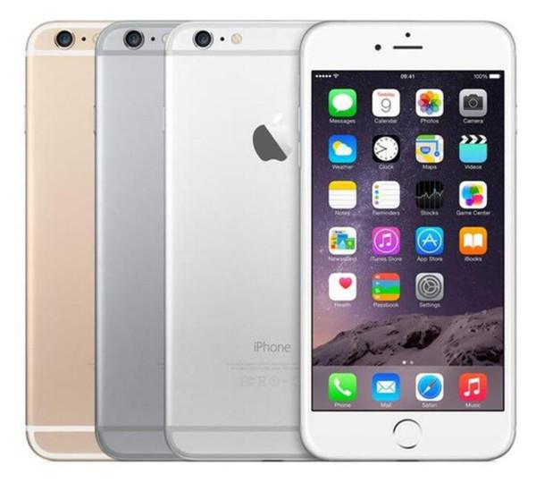 Восстановленный оригинальный iPhone 6 Plus с отпечатком пальца 5,5 дюйма IOS 11 16GB / 64GB/128GB 4G фото
