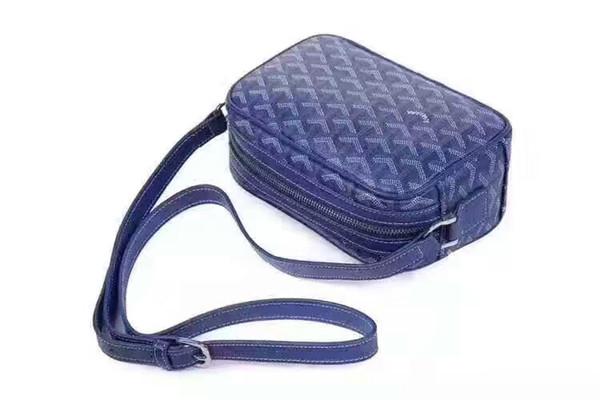 Новый 2018 кожаная сумка euramerican мода прилив мини одноместный сумка Сумка, небольшой хлеб сумки