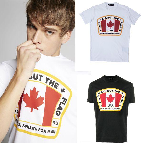 Значок Марка высокое качество 2018 3d печать футболка мужчины, белый с коротким рука