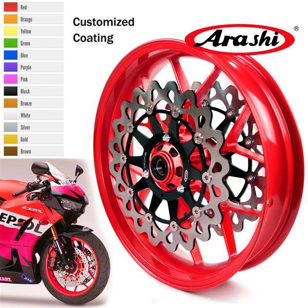 Arashi для Honda CBR1000RR 2006-2017 передний обод тормозной диск Диск Ротор CBR 1000 RR Красный 2011 201