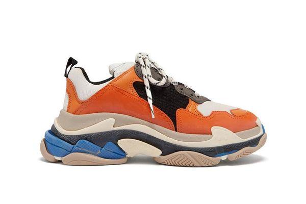 Мода 2019 высокое качество Новый тройной s кроссовки мужчины и женщины досуг обувь повседневная удобная спортивная обувь размер 36-45