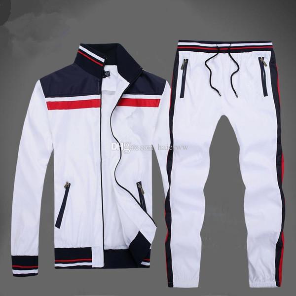 2019 новый оптовый мужской спортивный костюм поло на молнии мужской спортивный костюм дешевые мужские толстовки и брюки комплект тренировочный костюм мужчины бесплатно