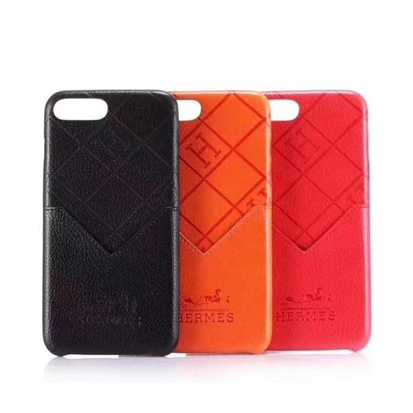 Чехол для телефона известной кожи для IPhone 6 7 8 Plus X XS XS Max XR Luxury Edition Слот для карты те