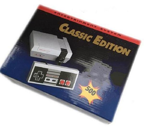 NES Mini 500 Игровые приставки Classic Game TV Видео Портативная игровая приставка Развлекательная система Classic Games