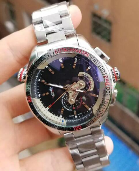 2018 New Top luxury brand Fashion Men's Mechanical Stainless Steel Automatic Movement Watch Sports mens Self-wind Watches tag Wristwatch