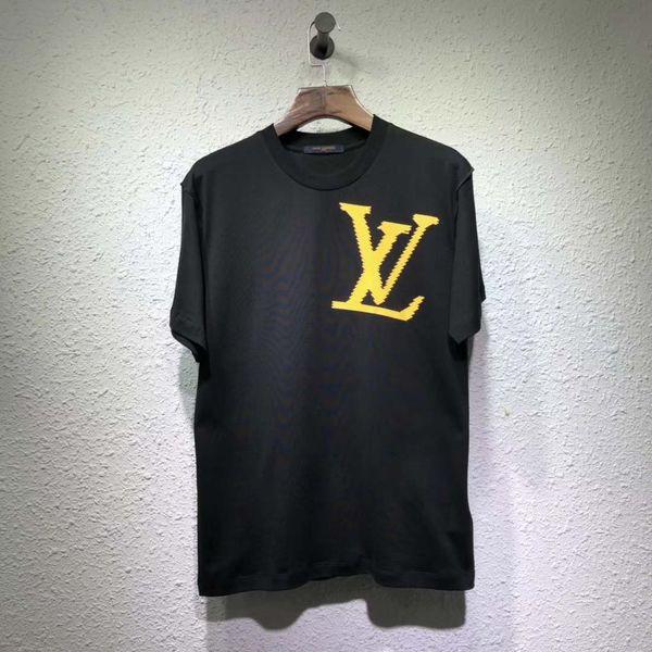 2019 весна лето коллекция на заказ ткань камуфляж мужчины футболка уличная хлопок футболка хип-хоп мода мужская футболка