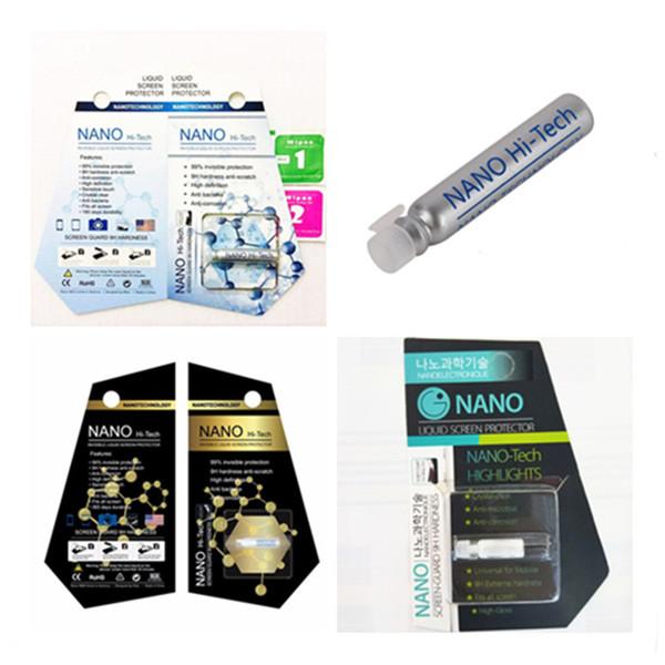 1ml liquid nano technology creen protector for iphone x 7 8 plu am ung 8 plu 3d curved edge anti cratch tempered gla film