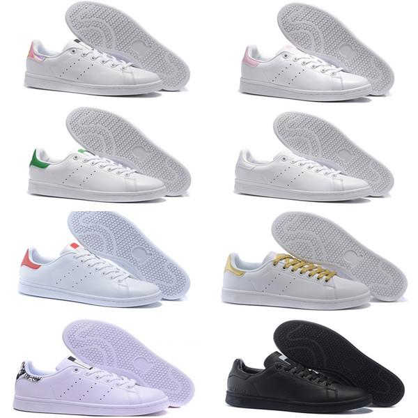 Высокое качество новый стан обувь Мода кузнец кроссовки случайные кожаные мужчины женщины спортивные кроссовки для бега балетки кроссовки EUR36-44