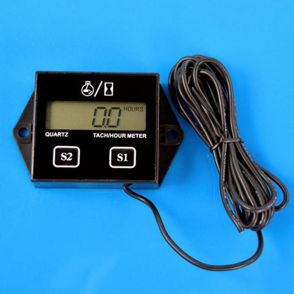 Новейший Digital Engine тахометр счетчик часов тахометр Датчик индуктивный дисплей для фото