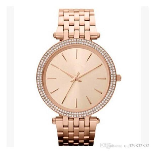 Ультра тонкий розовое золото женщина алмазный цветок часы 2017 Марка роскошные мед фото