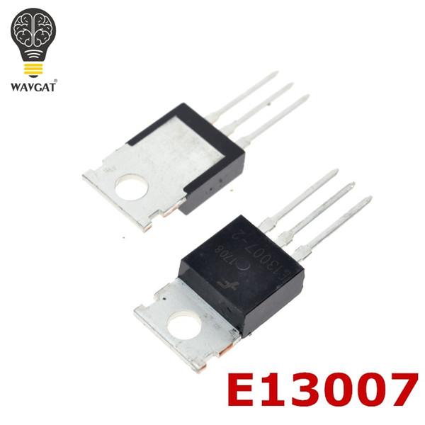 10pcs mje13007 e13007-2 to-220 computer switching supply power transistor 8.0 amperes 400 volts 80/40 watts (423620562) photo