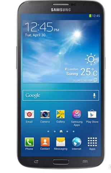 Refurbi hed  am ung galaxy mega 6 3 i9200 cell phone  6 3inch  creen dual core 16g rom 8 0mp unlocked original lcd