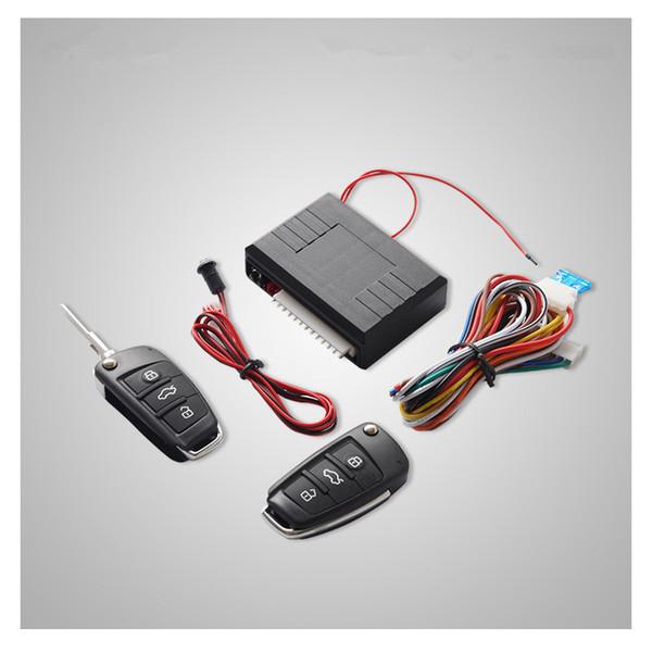 Universal Car Central Kit Door Locking Remote Control Keyless Entry System 2Keys