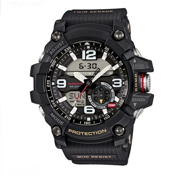 Men's G sports GG1000 luxury watches men watch LED chronograph all function work shocking waterproof big bang wristwatch Free Shipping