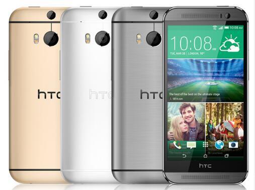 Original htc one m8 unlocked g m wcdma lte quad core ram 2gb cell phone htc m8 5 0 inch 3 camera  refurbi hed phone